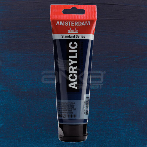 Amsterdam Akrilik Boya 120ml 566 Prussian Blue Phthalo - 566 Prussian Blue Phthalo