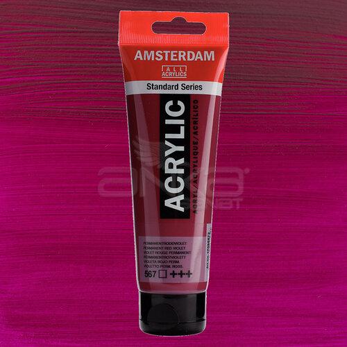 Amsterdam Akrilik Boya 120ml 567 Permanent Red Violet - 567 Permanent Red Violet
