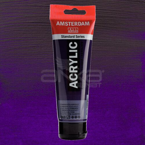 Amsterdam Akrilik Boya 120ml 568 Permanent Blue Violet - 568 Permanent Blue Violet