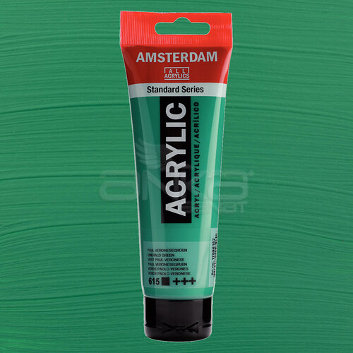Amsterdam Akrilik Boya 120ml 615 Emerald Green - 615 Emerald Green