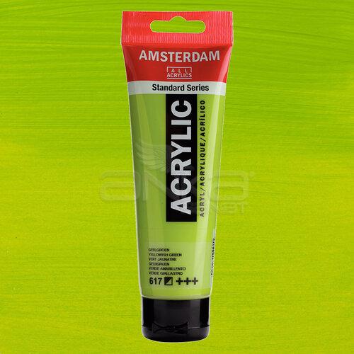 Amsterdam Akrilik Boya 120ml 617 Yellowish Green