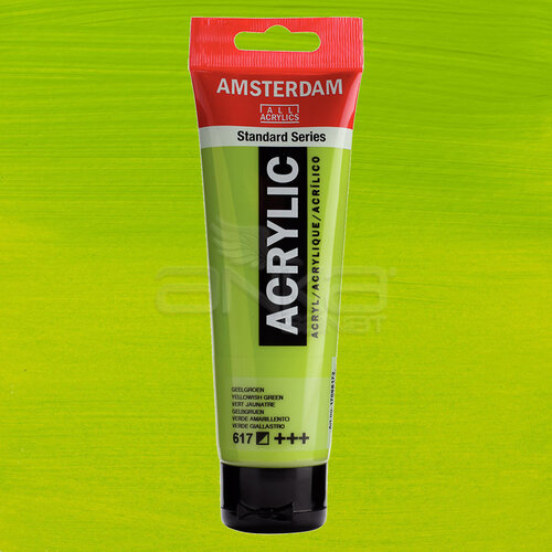 Amsterdam Akrilik Boya 120ml 617 Yellowish Green - 617 Yellowish Green