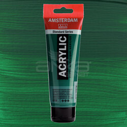 Amsterdam - Amsterdam Akrilik Boya 120ml 619 Permanent Green. Deep