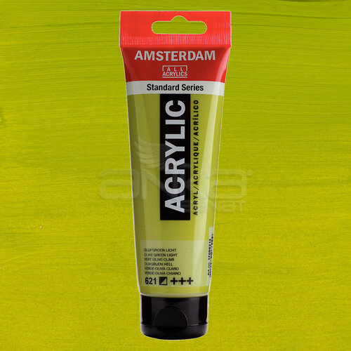 Amsterdam Akrilik Boya 120ml 621 Olive Green Light - 621 Olive Green Light