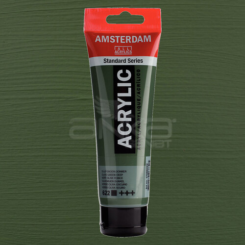 Amsterdam Akrilik Boya 120ml 622 Olive Green Deep - 622 Olive Green Deep