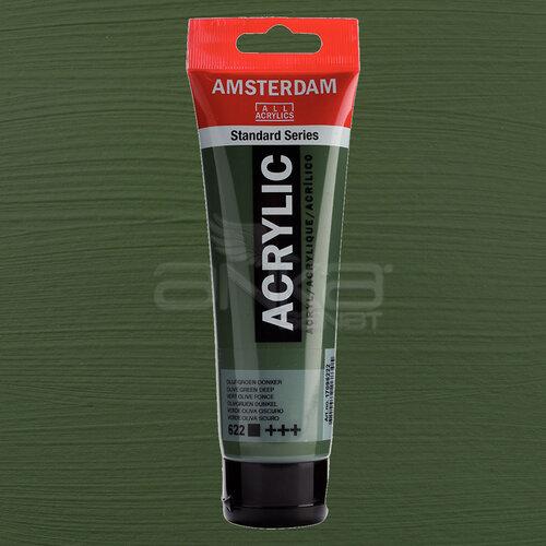 Amsterdam Akrilik Boya 120ml 622 Olive Green Deep