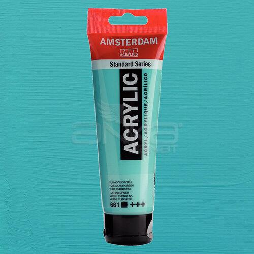 Amsterdam Akrilik Boya 120ml 661 Turquoise Green
