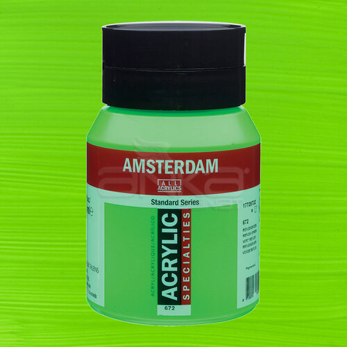 Amsterdam Akrilik Boya 500ml 672 Reflex Green