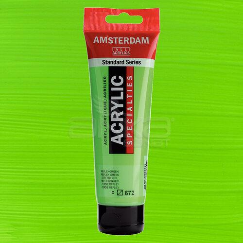 Amsterdam Akrilik Boya 120ml 672 Reflex Green
