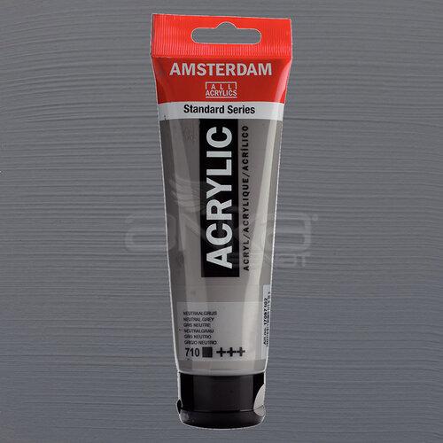 Amsterdam Akrilik Boya 120ml 710 Neutral Grey
