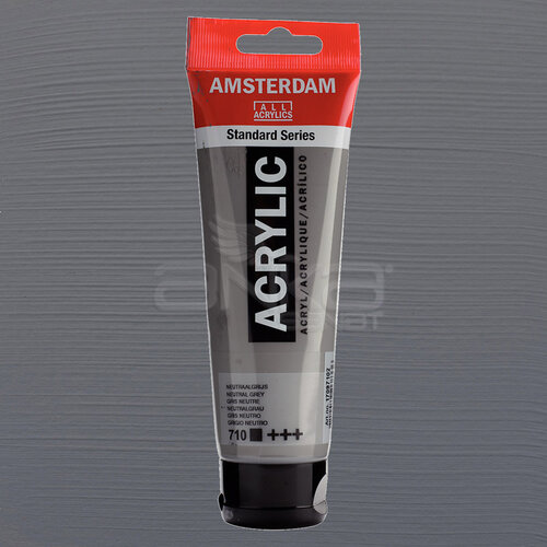 Amsterdam Akrilik Boya 120ml 710 Neutral Grey - 710 Neutral Grey