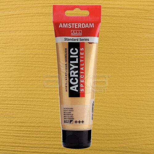 Amsterdam Akrilik Boya 120ml 802 Light Gold - 802 Light Gold