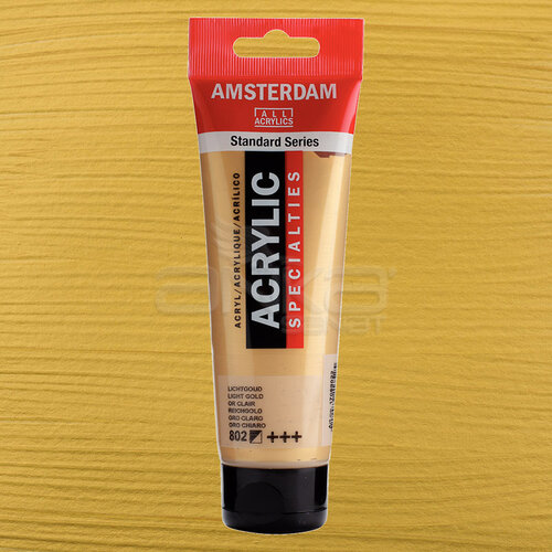 Amsterdam Akrilik Boya 120ml 802 Light Gold - 802 Light Gold