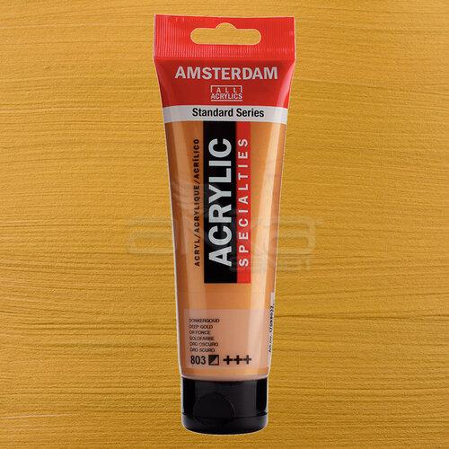 Amsterdam Akrilik Boya 120ml 803 Deep Gold - 803 Deep Gold