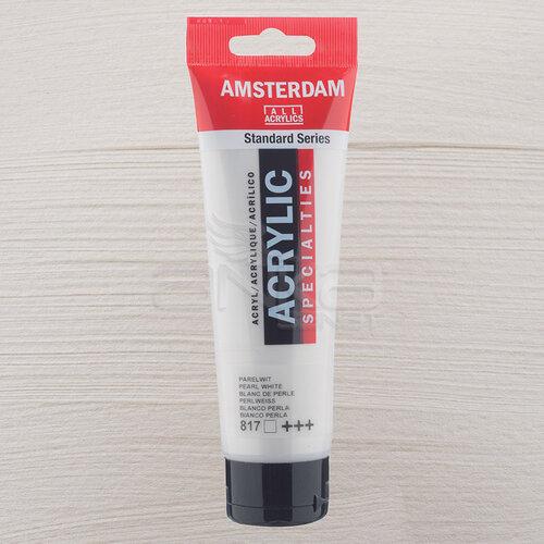 Amsterdam Akrilik Boya 120ml 817 Pearl White - 817 Pearl White