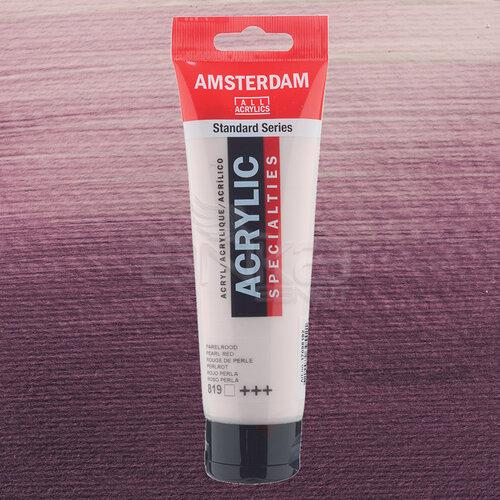 Amsterdam Akrilik Boya 120ml 819 Pearl Red - 819 Pearl Red