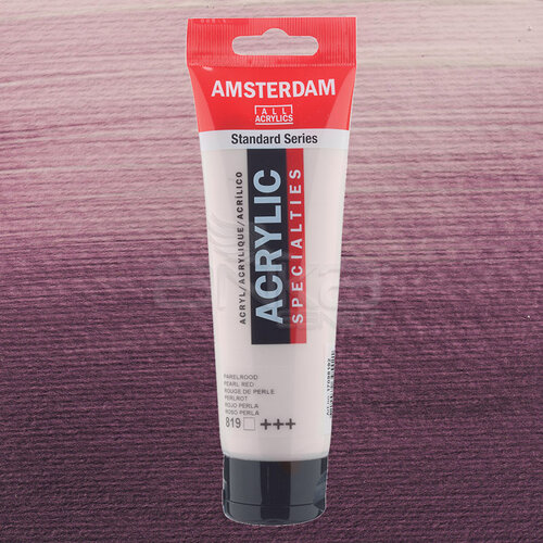 Amsterdam Akrilik Boya 120ml 819 Pearl Red - 819 Pearl Red