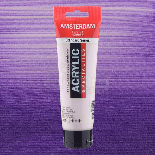 Amsterdam Akrilik Boya 120ml 821 Pearl Violet - 821 Pearl Violet