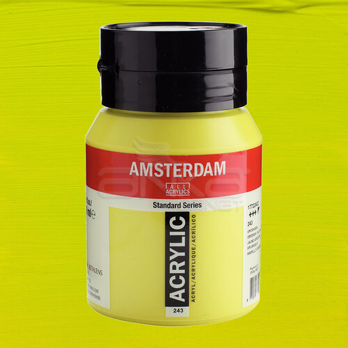 Amsterdam Akrilik Boya 500ml 243 Greenish Yellow