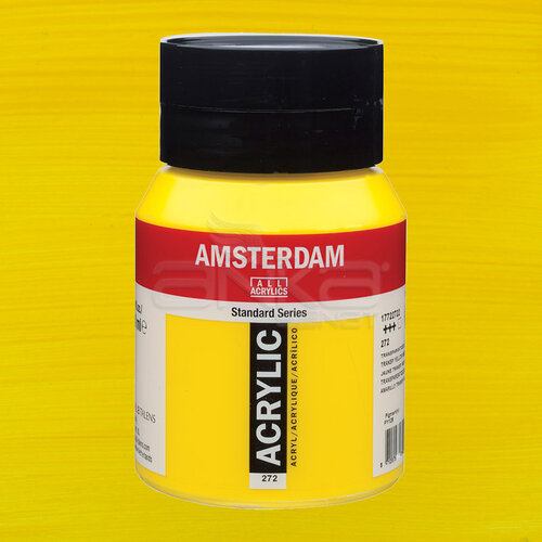 Amsterdam Akrilik Boya 500ml 272 Transparan Yellow Medium