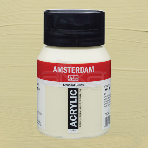 Amsterdam Akrilik Boya 500ml 282 Naples Yellow Green