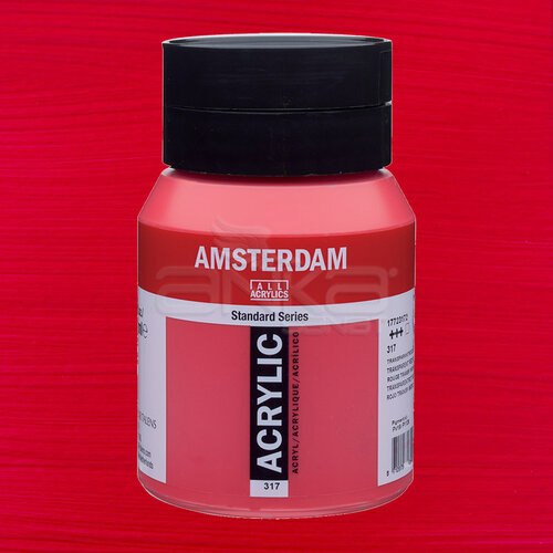 Amsterdam Akrilik Boya 500ml 317 Transparan Red Medium