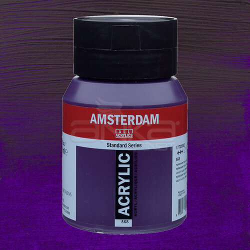 Amsterdam Akrilik Boya 500ml 568 Permanent Blue Violet