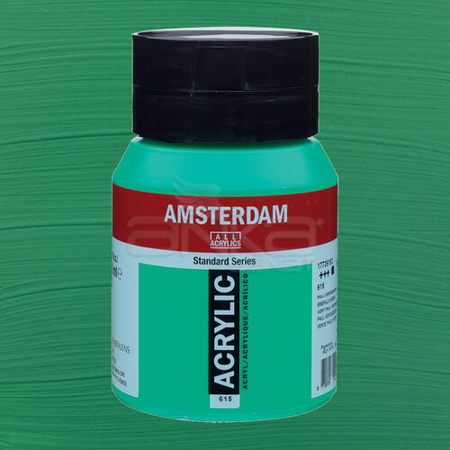 Amsterdam Akrilik Boya 500ml 615 Emerald Green