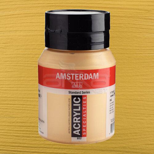 Amsterdam Akrilik Boya 500ml 802 Light Gold