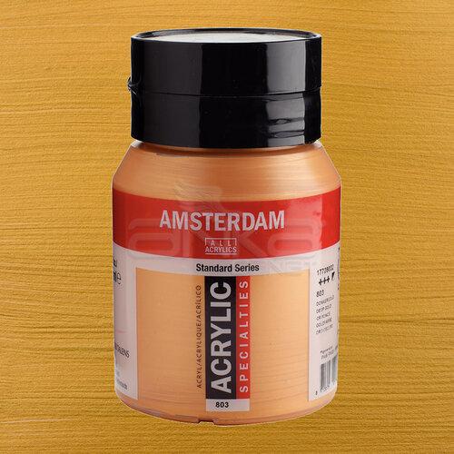 Amsterdam Akrilik Boya 500ml 803 Deep Gold