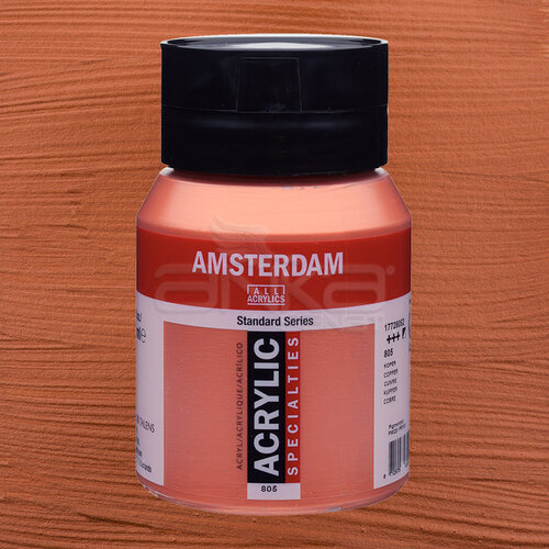 Amsterdam Akrilik Boya 500ml 805 Copper