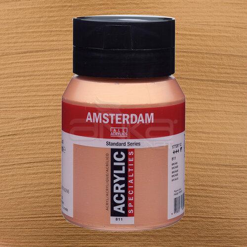 Amsterdam Akrilik Boya 500ml 811 Bronze