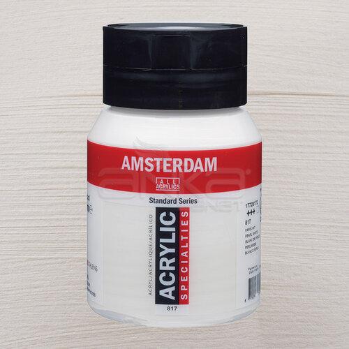 Amsterdam Akrilik Boya 500ml 817 Pearl White