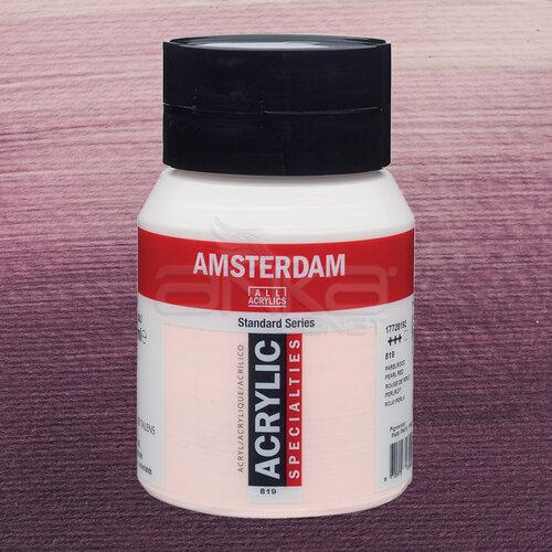Amsterdam Akrilik Boya 500ml 819 Pearl Red