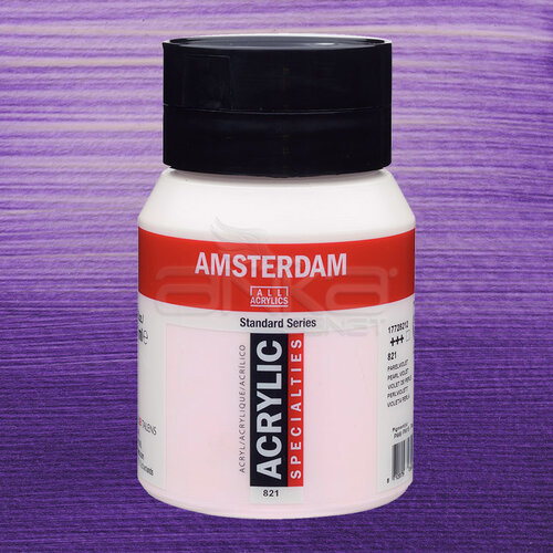 Amsterdam Akrilik Boya 500ml 821 Pearl Violet