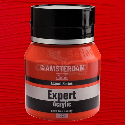 Amsterdam Expert Akrilik Boya 400ml 303 Cadmium Red Light