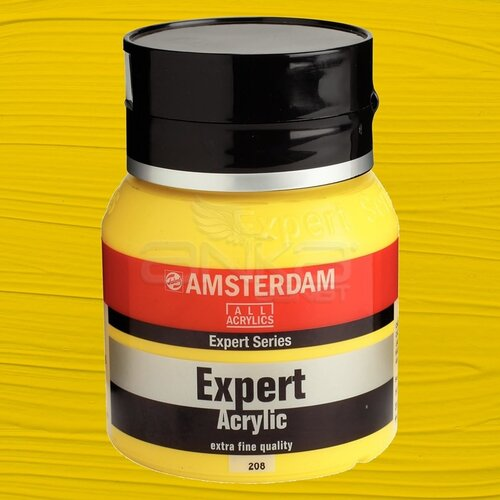 Amsterdam Expert Akrilik Boya 400ml 208 Cadmium Yellow Light