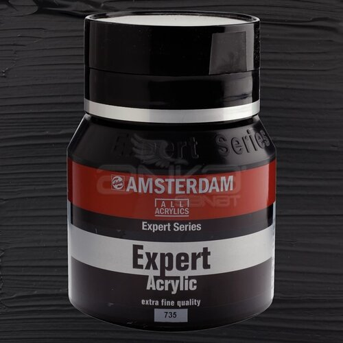 Amsterdam Expert Akrilik Boya 400ml 735 Oxide Black
