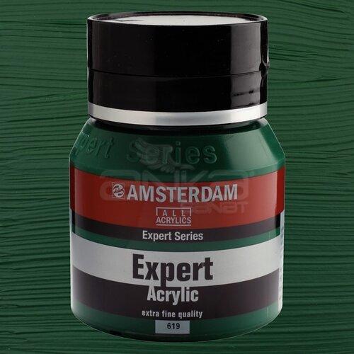 Amsterdam Expert Akrilik Boya 400ml 619 Permanent Green Deep