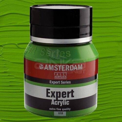 Amsterdam Expert Akrilik Boya 400ml 618 Permanent Green Light