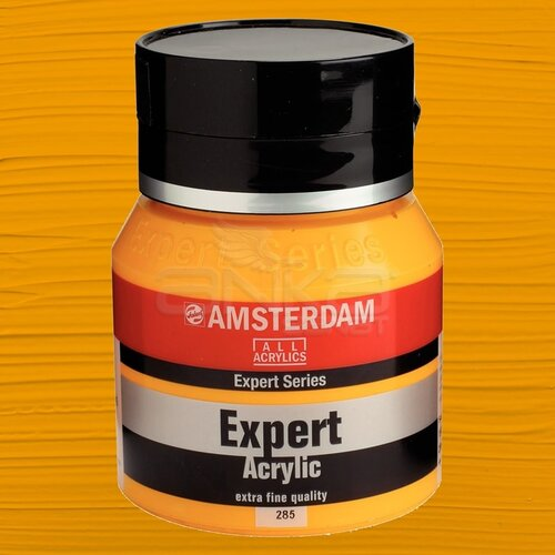 Amsterdam Expert Akrilik Boya 400ml 285 Permanent Yellow Deep