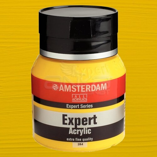 Amsterdam Expert Akrilik Boya 400ml 284 Permanent Yellow Medium
