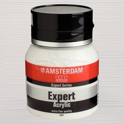 Amsterdam Expert Akrilik Boya 400ml 105 Titanium White - Thumbnail