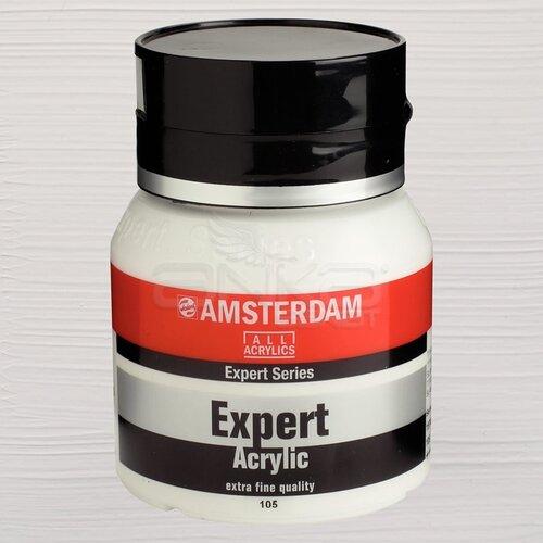 Amsterdam Expert Akrilik Boya 400ml 105 Titanium White