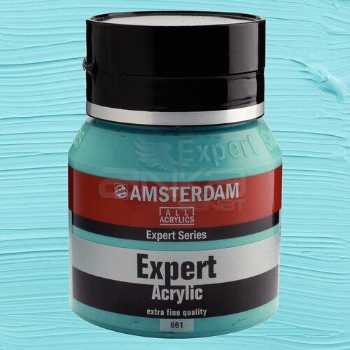 Amsterdam Expert Akrilik Boya 400ml 661 Turquoise Green