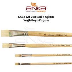 Anka Art - Anka Art 258 Seri Keçi Kılı Yağlı Boya Fırçası