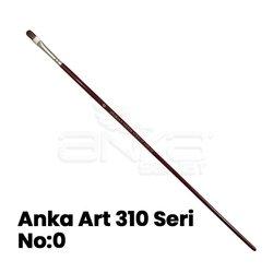 Anka Art - Anka Art 310 Seri Kedi Dili Samur Fırça (1)