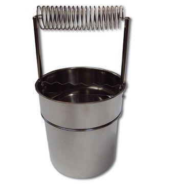 Anka Art Fırça Temizleme Kabı Çelik