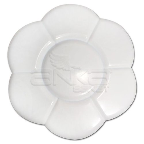 Anka Art Godeli Plastik Çiçek Palet 7 Gözlü
