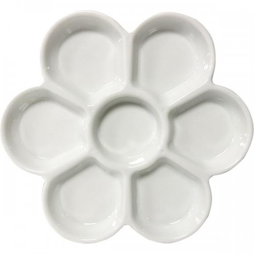 Porselen Kaplı Plastik Palet 7 Gözlü